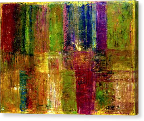 Color Panel Abstract Canvas Print
