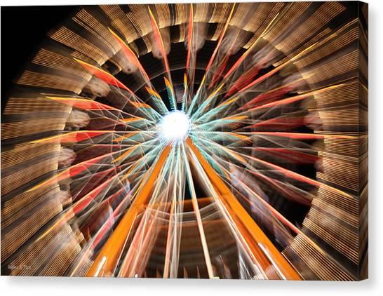Color Wheel Canvas Print