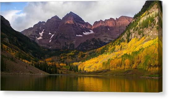 Colorado 14ers The Maroon Bells Canvas Print