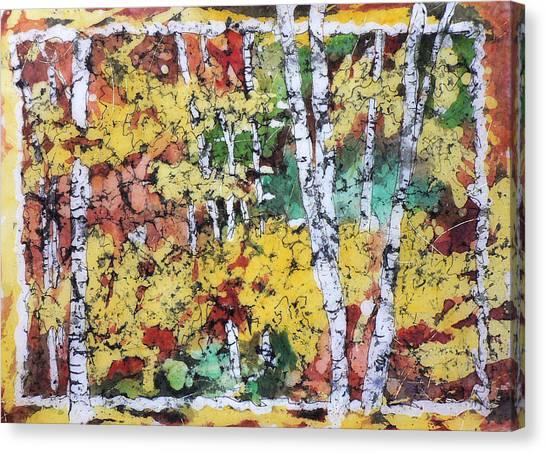 Colorado Batik Canvas Print