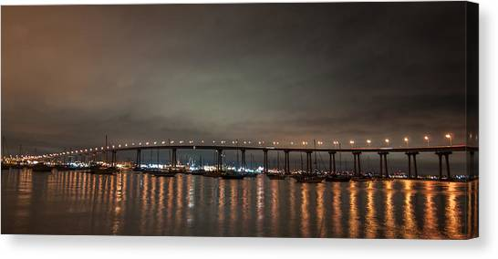 Coronado Bridge San Diego Canvas Print
