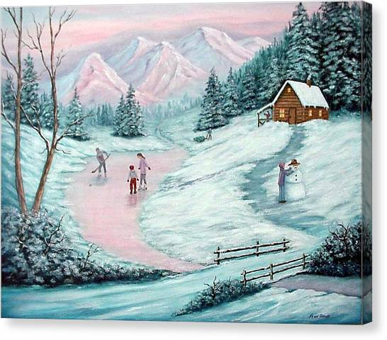 Colorado Christmas Canvas Print