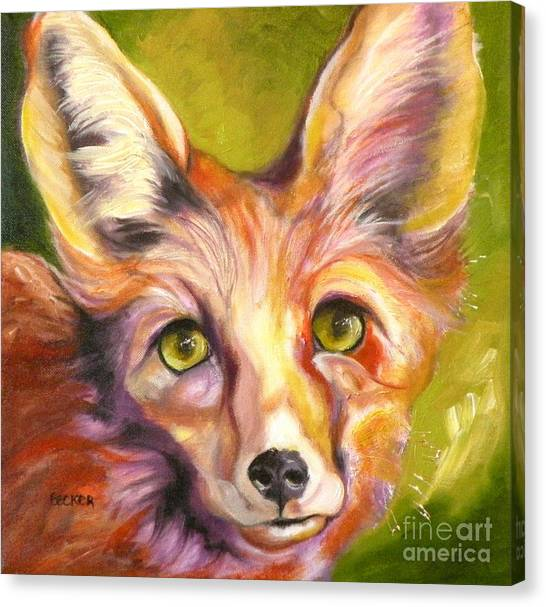Colorado Fox Canvas Print