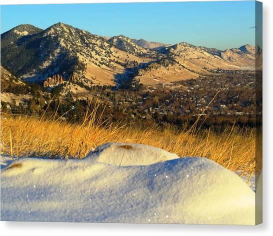 Colorado Front Range Sunrise Canvas Print