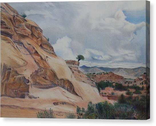 Colorado Monument Country Canvas Print