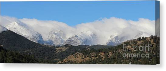 Colorado State University Canvas Print - Colorado Rockies 1 by Douglas Lintner