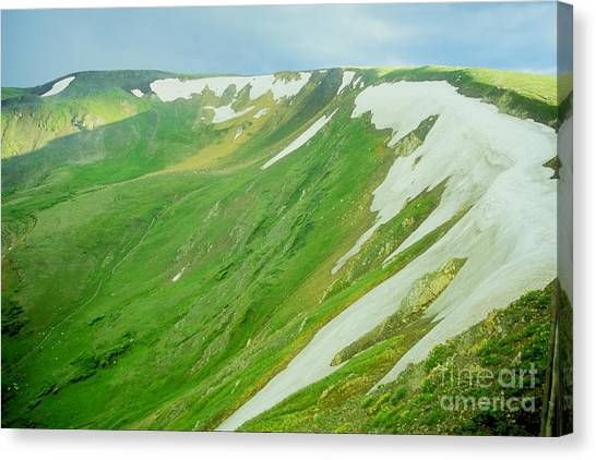 Colorado Snow Vista Canvas Print