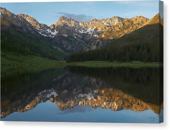 Colorado Sunset - Piney Lake Canvas Print