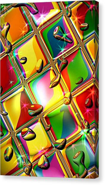 Colored Mirror By Nico Bielow Canvas Print
