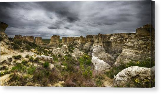 Colorful Canyons Canvas Print
