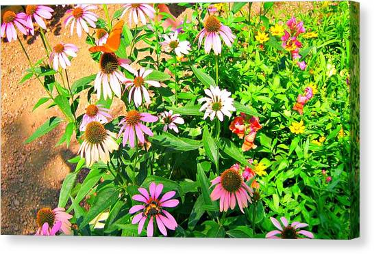 Colorful Canvas Print by Debbie Sikes