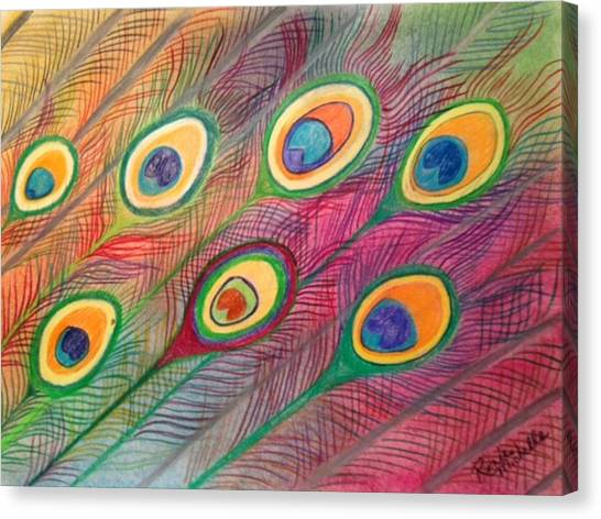 Colorful Delusions Canvas Print