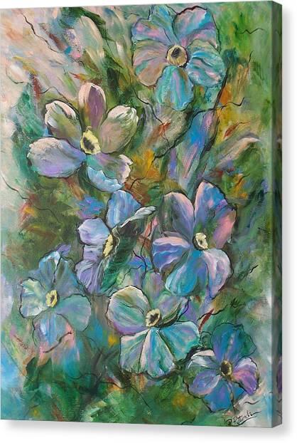 Colorful Floral Canvas Print