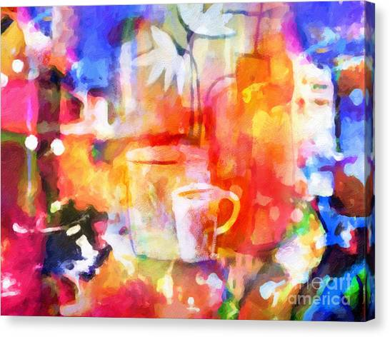 Colorplay Canvas Print - Colorful Life by Lutz Baar