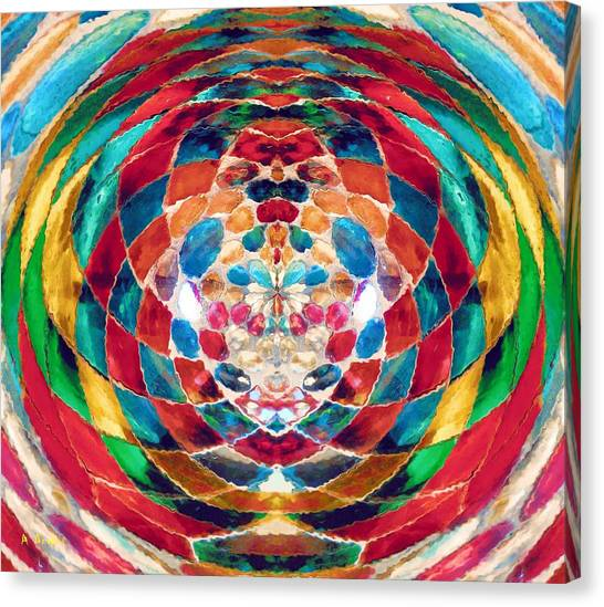 Colorful Mosaic Canvas Print