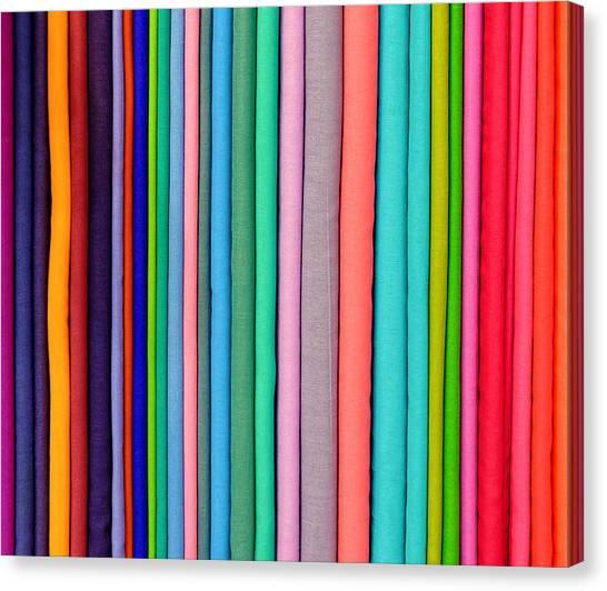 Colorful Pashminas Canvas Print