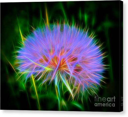 Colorful Puffball Canvas Print