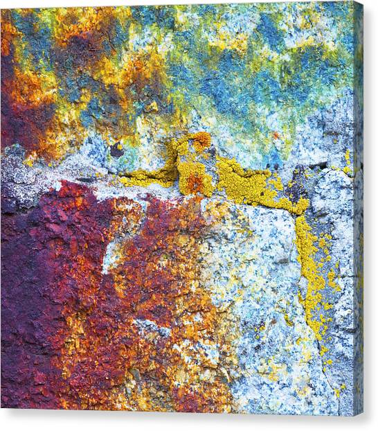 Colorful Rock 5973 Canvas Print by Bob Hills