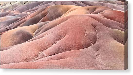 Ashes Canvas Print - Colorful Sands by Tom Gowanlock
