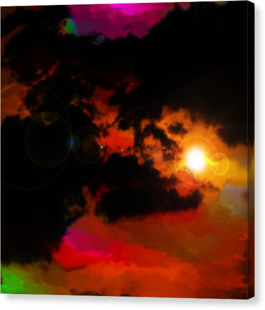 Colorful Sky Canvas Print