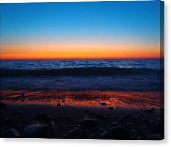 Colorful Twilight Canvas Print