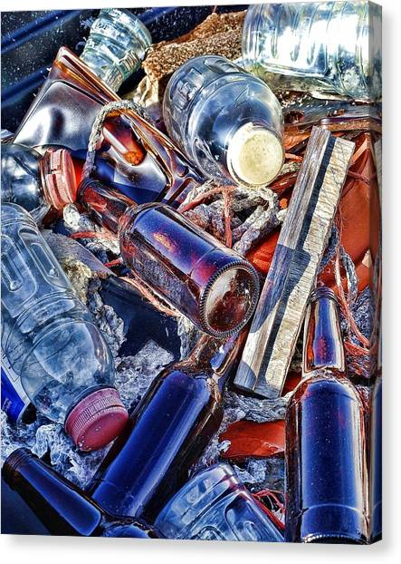 Colorfull Junk Canvas Print by Udo Dussling