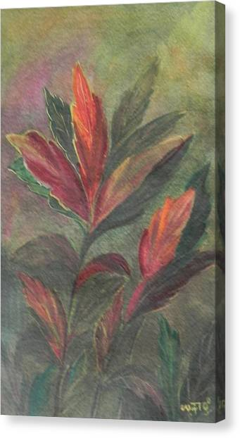 Colorfull Canvas Print by Usha Rai