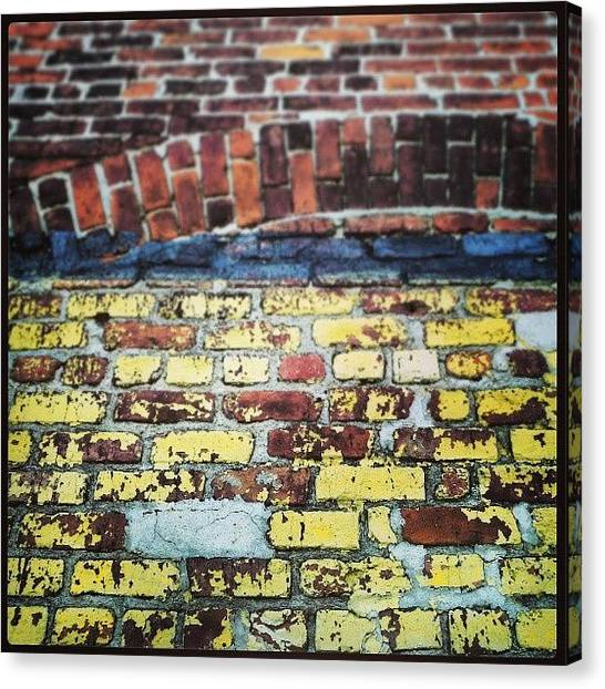 Warehouses Canvas Print - #colors & #textures Of #nola by Glen Abbott