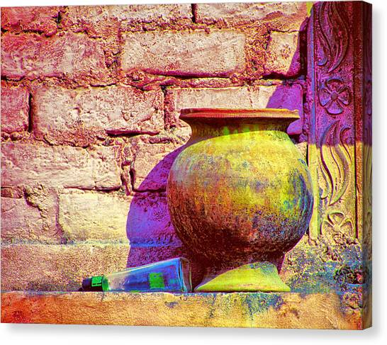 Colors And The Sun Canvas Print