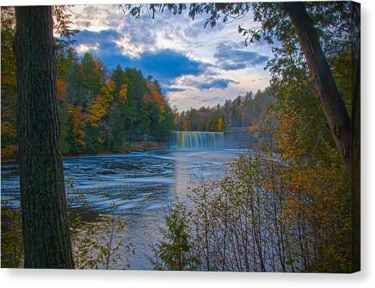 Colors At Tahquamenon Falls Canvas Print