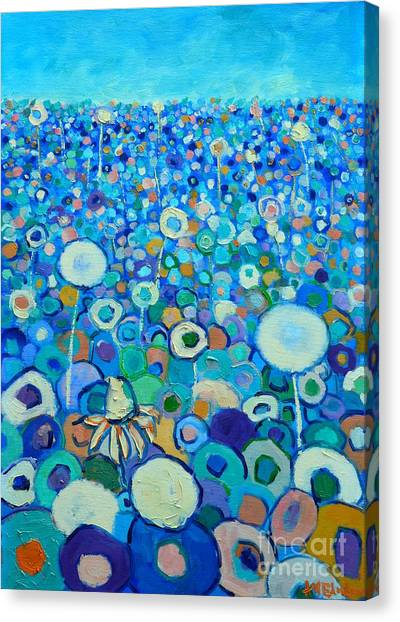 Colors Field In My Dream Canvas Print
