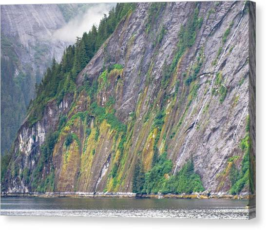 Colors Of Alaska - Misty Fjords Canvas Print