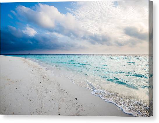 Colors Of Paradise Canvas Print