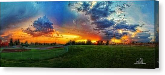 Colors Of Shadle Park Canvas Print by Dan Quam