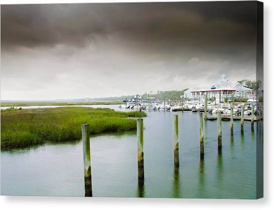 Colors Of The Coast Canvas Print