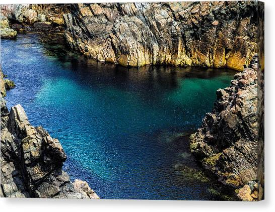 Canvas Print featuring the photograph Colors Of The Earth 11 by Perla Copernik
