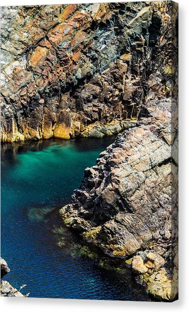 Canvas Print featuring the photograph Colors Of The Earth 9 by Perla Copernik