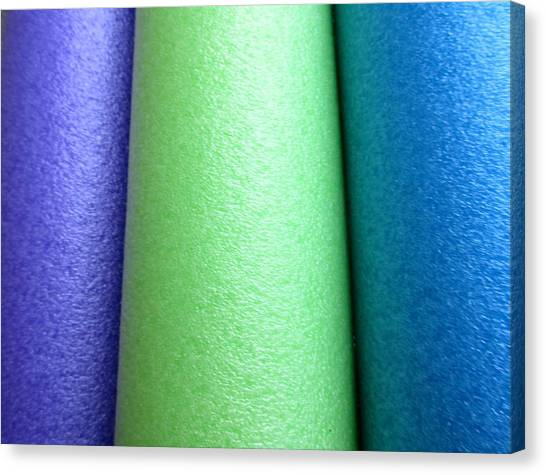 Colorscape Tubes A Canvas Print