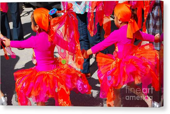 Colors....coordinated Canvas Print