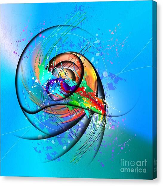 Colorwave Canvas Print