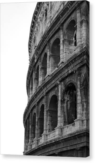 Roman Art Canvas Print - Colosseo by Ernesto Cinquepalmi