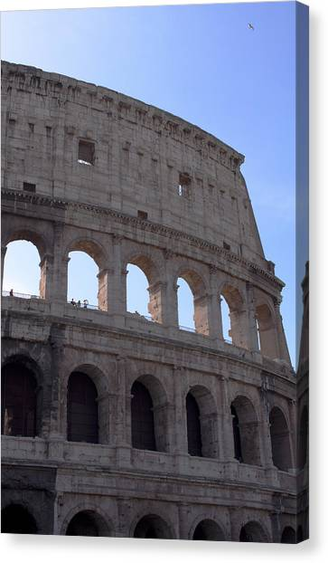 Roman Art Canvas Print - Colosseo2 by Ernesto Cinquepalmi