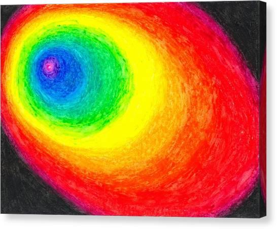 Colour In The Dark Canvas Print