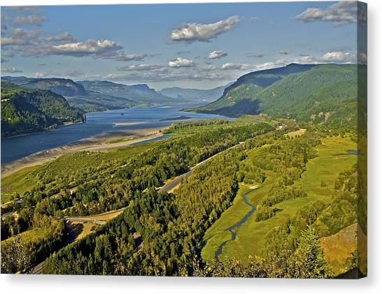 Columbia Gorge Canvas Print