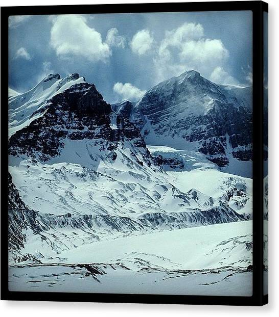Glaciers Canvas Print - Columbia Icefield, Jasper Np, Canada by Bob Rives