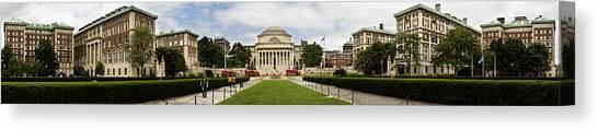Columbia University Canvas Print - Columbia University by Georgia Fowler