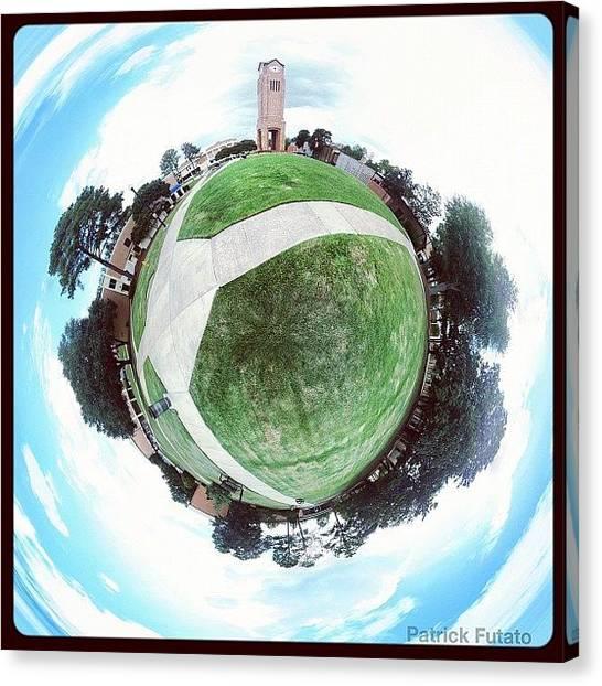 Georgia State University Canvas Print - Columbus State University by Patrick Futato