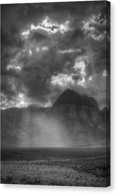 Column Of Light Canvas Print