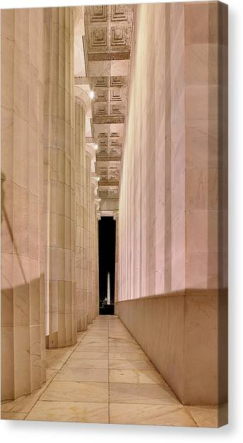 Columns And Monuments Canvas Print