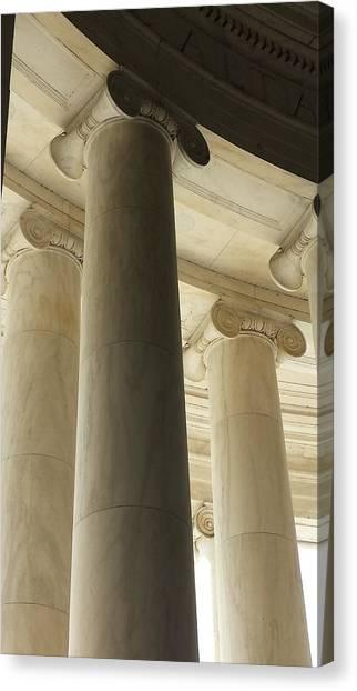 Columns Stand Guard Canvas Print